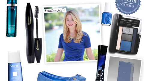 Color Stories: Beauty Expert Nadine Jolie Shows Her Love For Midnight Rush | StyleCaster