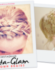 Instagram Insta-Glam: Crown Braids