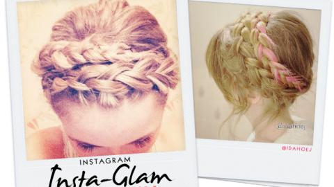 Instagram Insta-Glam: Crown Braids | StyleCaster
