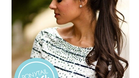 10 Curly Hair Ponytail Looks | StyleCaster