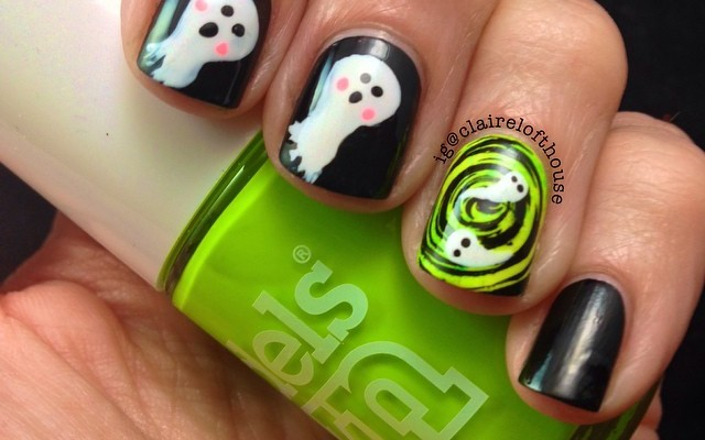 Cute Halloween Nail Designs: DIY These Monster Manicures at Home