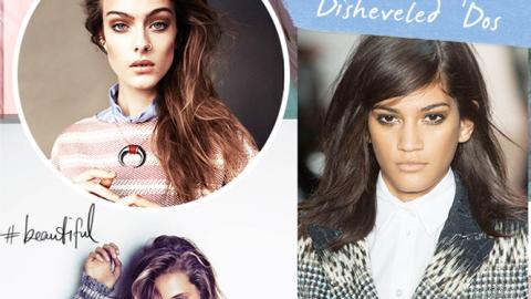 Mood Board: Disheveled 'Dos | StyleCaster