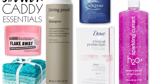 Dorm Beauty Essentials: Must-Haves For Your Shower Caddy   StyleCaster