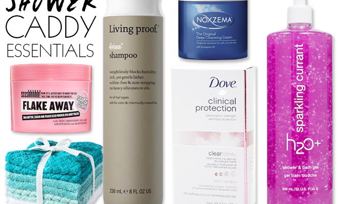 Dorm Beauty Essentials: Must-Haves For Your Shower Caddy