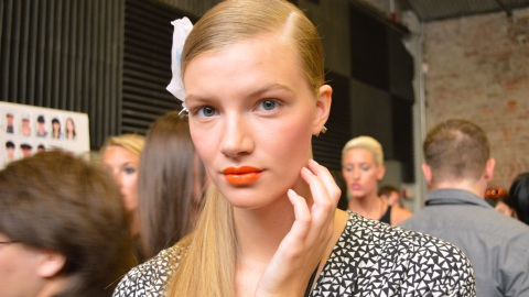 Get the Citrusy Orange Statement Lip from DKNY | StyleCaster
