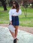 A Denim Skirt For Every Body