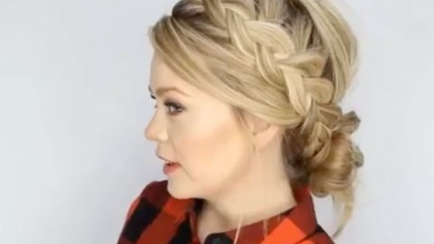 Learning How to Dutch Braid Made Simple | StyleCaster