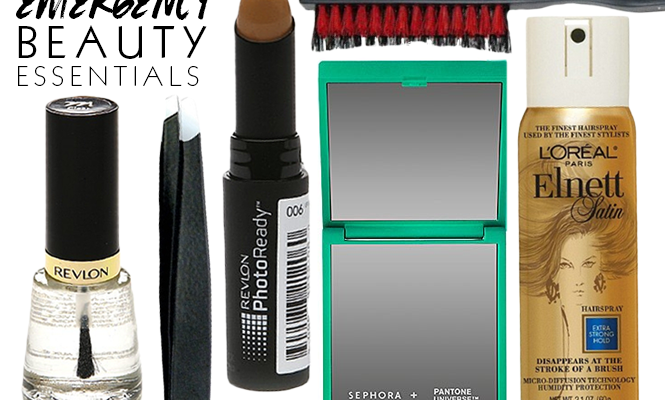 25 Beauty Emergency Essentials to Always Carry