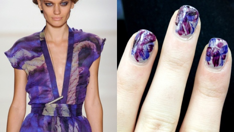 Watch: Get Runway-Inspired Nail Art From Emerson's Spring 2013 Show | StyleCaster