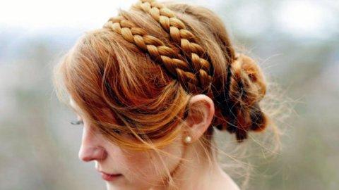 Summer Must for Long Hair: The Headband Braid | StyleCaster
