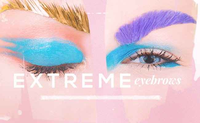 Extreme Eyebrows: Pushing the Limits On the Bold Brow Trend
