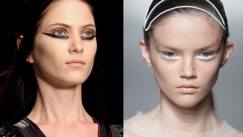 Eyeliner Experiment: Taking the Line Down Under | StyleCaster