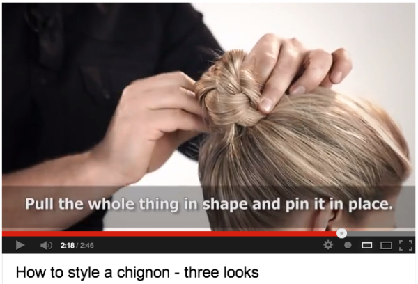 Chignon How To 10 Best Video Tutorials On Youtube Stylecaster