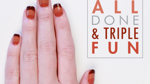 Beauty Buzz: Get Tri-Color Nails for Fall, De-Stress During the Holidays, More | StyleCaster