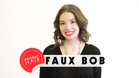 The Faux Bob: How to Get Shorter Hair With No Commitment | StyleCaster