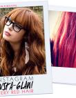 Instagram Insta-glam: Fiery Red Hair