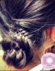 Instagram Insta-Glam: Fishtail Braid Buns