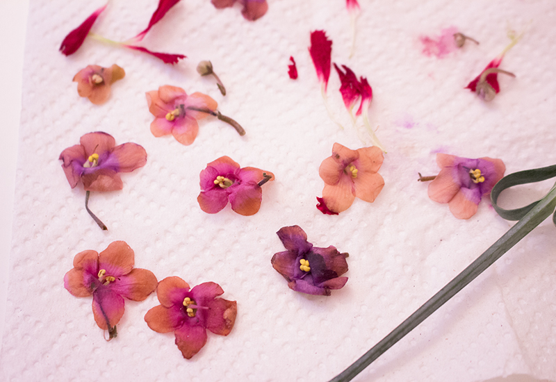How To Make Temporary Tattoos From Real Dried Flowers