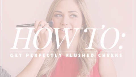 Easy Tricks to Get the 'Just Flushed' Look for Valentine's Day   StyleCaster