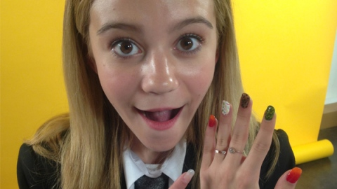 WATCH: Get Schooled In Nail Art By G. Hannelius | StyleCaster