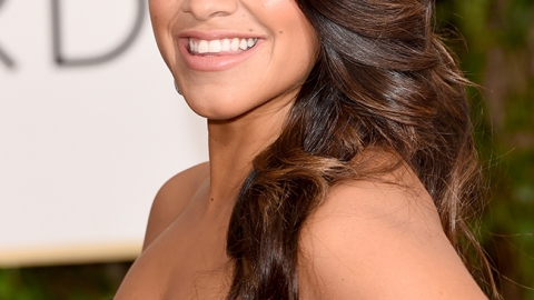 Gina Rodriguez' Hollywood Glam Hair at the Globes | StyleCaster