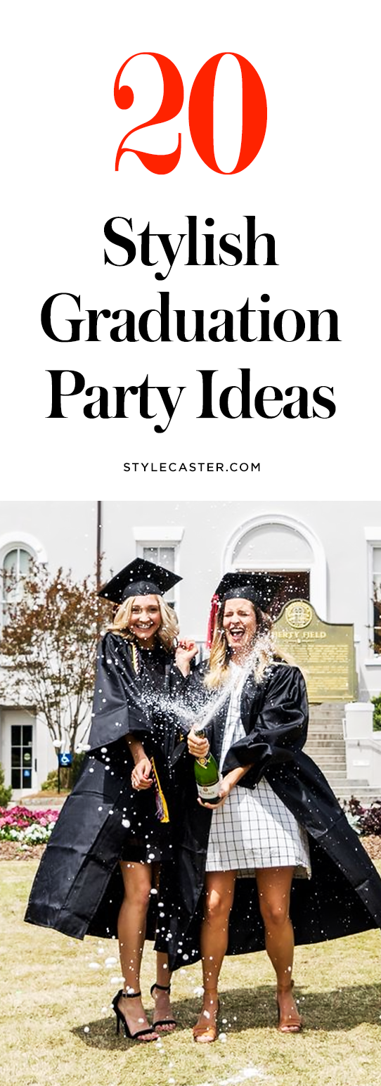 20 Graduation Party Ideas You Ll Want To Copy Stylecaster