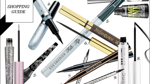 Shop the Trend: Graphic Liner for Fall | StyleCaster