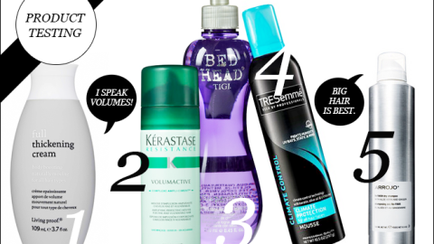 Product Testing: Top 5 Hair Products For Major Volume | StyleCaster