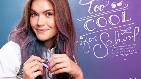 Too Cool For School: Gorgeous Back-to-School Beauty Looks—Using School Supplies! | StyleCaster