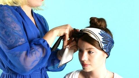 WATCH: How to Tie a Headscarf 3 Ways   StyleCaster