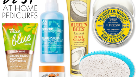 The Best At Home Pedicure Tips For Great Feet | StyleCaster