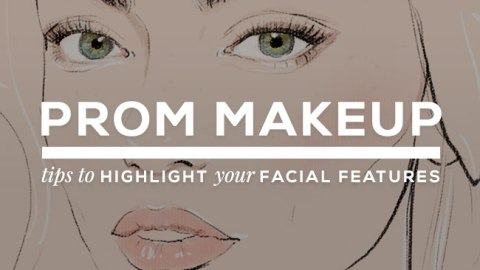 How to Highlight Your Facial Features For Prom | StyleCaster