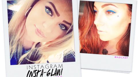 Instagram Insta-Glam: Blue Eyeliner   StyleCaster