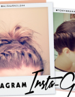 Instagram Insta-Glam: Chic Ways to Grow Out Your Bangs