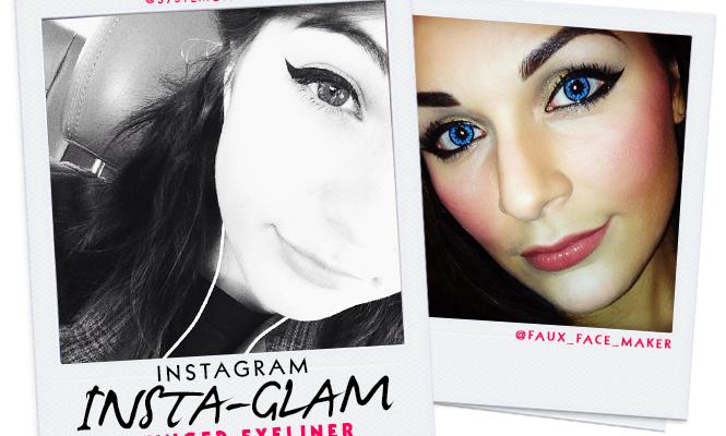 Instagram Insta-Glam: Winged Eyeliner