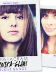 Instagram Insta-Glam: Blunt Bangs