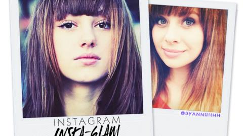 Instagram Insta-Glam: Blunt Bangs | StyleCaster