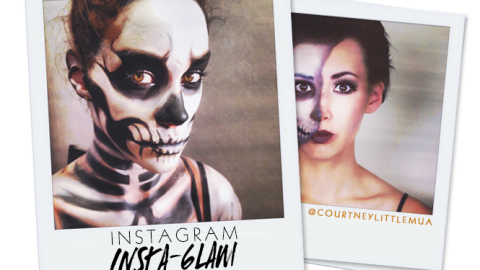 Instagram Insta-Glam: Halloween Makeup | StyleCaster