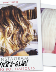 Instagram Insta-glam: Long Bob Haircuts