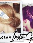 Instagram Insta-Glam: Low Buns