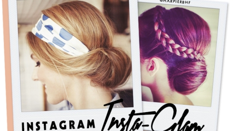 Instagram Insta-Glam: Low Buns | StyleCaster