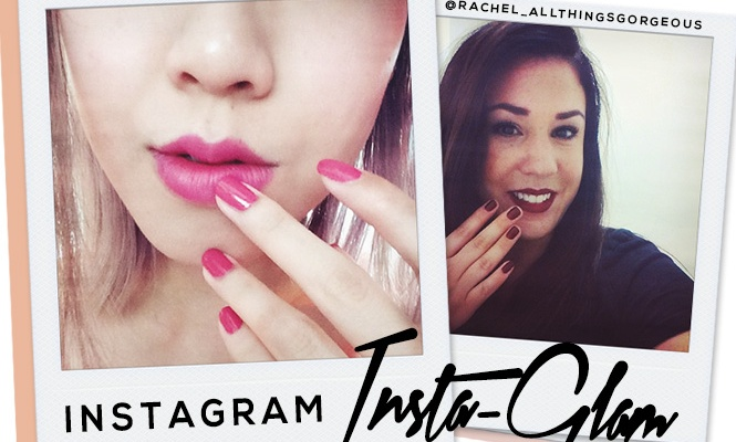 Instagram Insta-Glam: Matching Lips and Tips