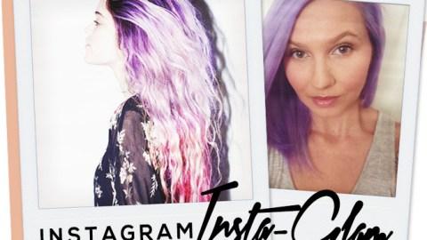 Instagram Insta-Glam: Purple Hair | StyleCaster