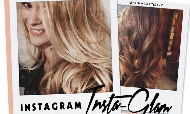 Instagram Insta-Glam: Bayalage Highlights