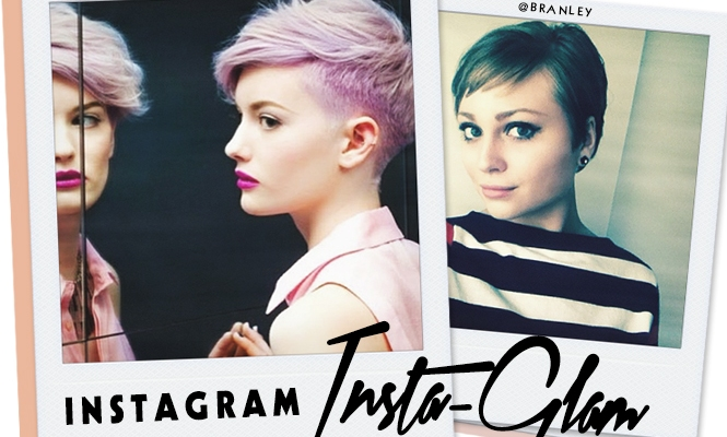 Instagram Insta-Glam: Pretty Pixie Haircuts