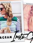 Instagram Insta-Glam: Stunning Side Braids