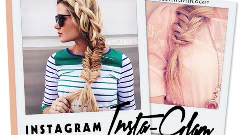 Instagram Insta-Glam: Stunning Side Braids | StyleCaster