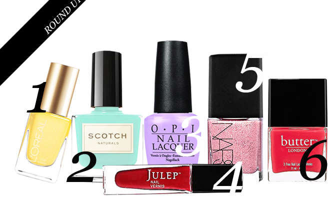 Our Favorite Nail Polish Color Combinations