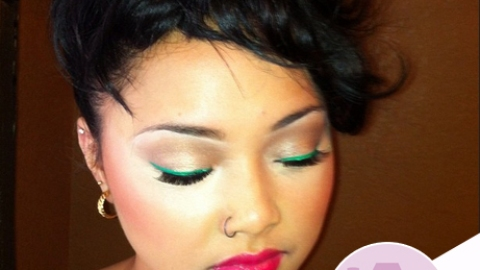 Instagram Insta-Glam: Colored Liners | StyleCaster