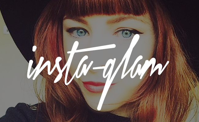 Insta-Glam Instagram: Short Bangs